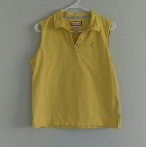 Jamaican Pineapple Yellow Collard Tank Top